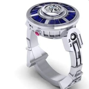 🆕 Super Cool R2D2 type ring